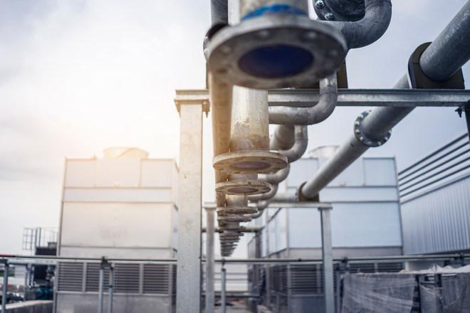 Ipari karbantartás: nedves hűtőtorony