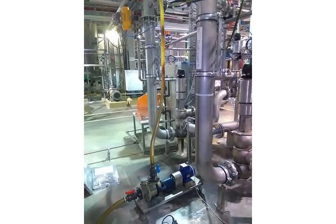 Lemezes hőcserélő tisztítása - ethanol üzem