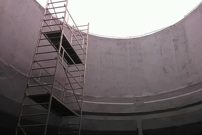 Ipari karbantartás: nedves hűtőtorony felújítás