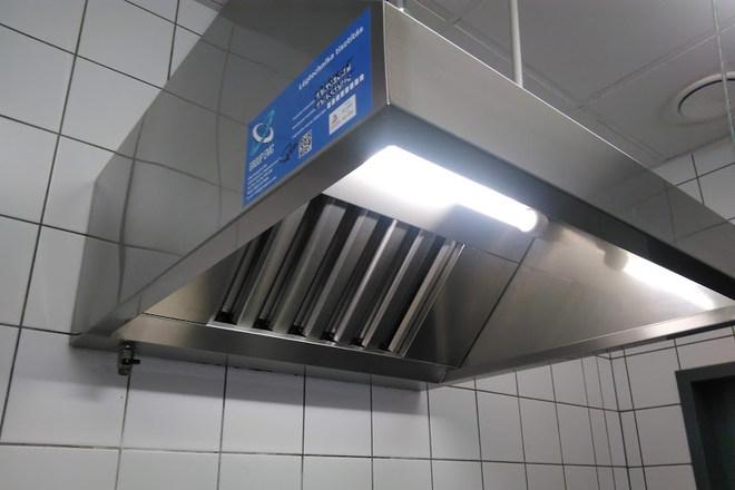 Zsíros konyhai elszívó rendszerek tisztítása