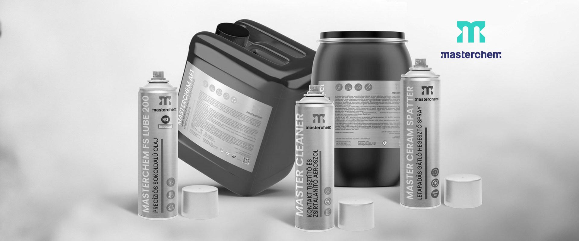 Masterchem termékek ipari tisztításhoz